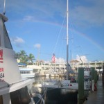 Tropical Voyager and a Rainbow in Key Largo Florida Keys