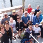 Here is part of the group aboard the Tropical Adventure